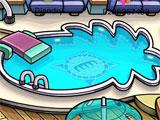 Rooftop in Club Penguin