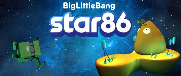 Star 86 - Create music and explore a fantastic galaxy in this free browser virtual world.