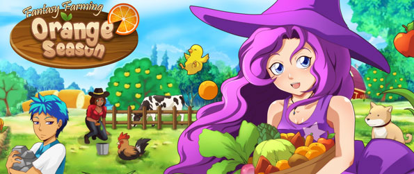Fantasy Farming: Orange Season - Build your own farm from the ground up and become a successful farmer in Fantasy Farming: Orange Season!