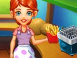 Served Fries in Cooking Tales