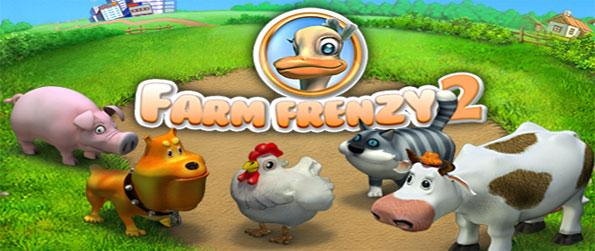 Farm Frenzy 2 - Rebuild another farm in this amazing sequel game full of cute animals and lots of action.