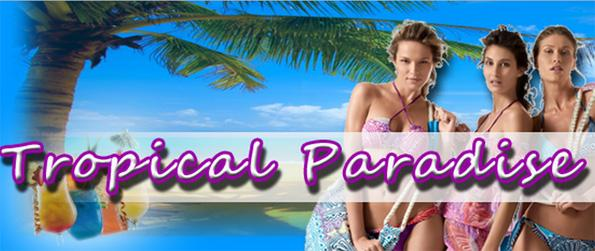 Tropical Paradise Virtual World - Enter a tropical world full of possibilities and create your own paradise island.