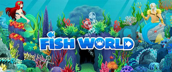 Fish World - Set up and design your own virtual underwater paradise in Fish World