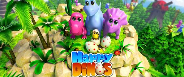 Happy Dinos - Play this delightful game to raise cute dinosaurs of many different kinds.