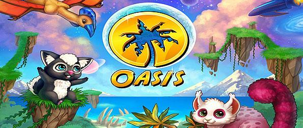 Oasis - Colonize a planet called Oasis, and situate yourself in this new and magical environment in this brimming new Facebook game.
