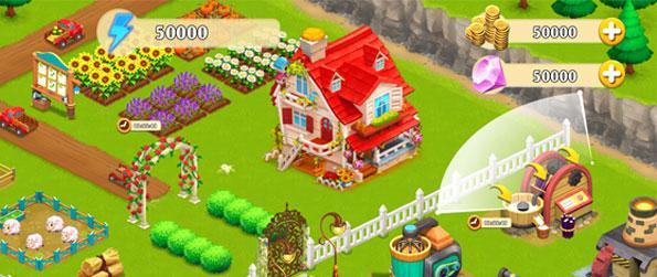 Dairy Farm - Take care of your own farm and raise and care for it while your farm animals grow! Watch as your crops grow and harvest your own products in the best farm game there is, Dairy Farm!