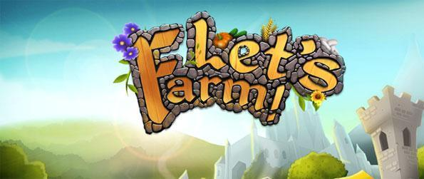 Let's Farm - Build a big and productive farm of your own... From scratch.