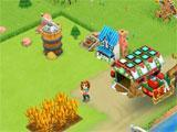 Farm Story 2: Winter birds eye view of the farm