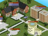 Teen Nick Avatar University Campus Map