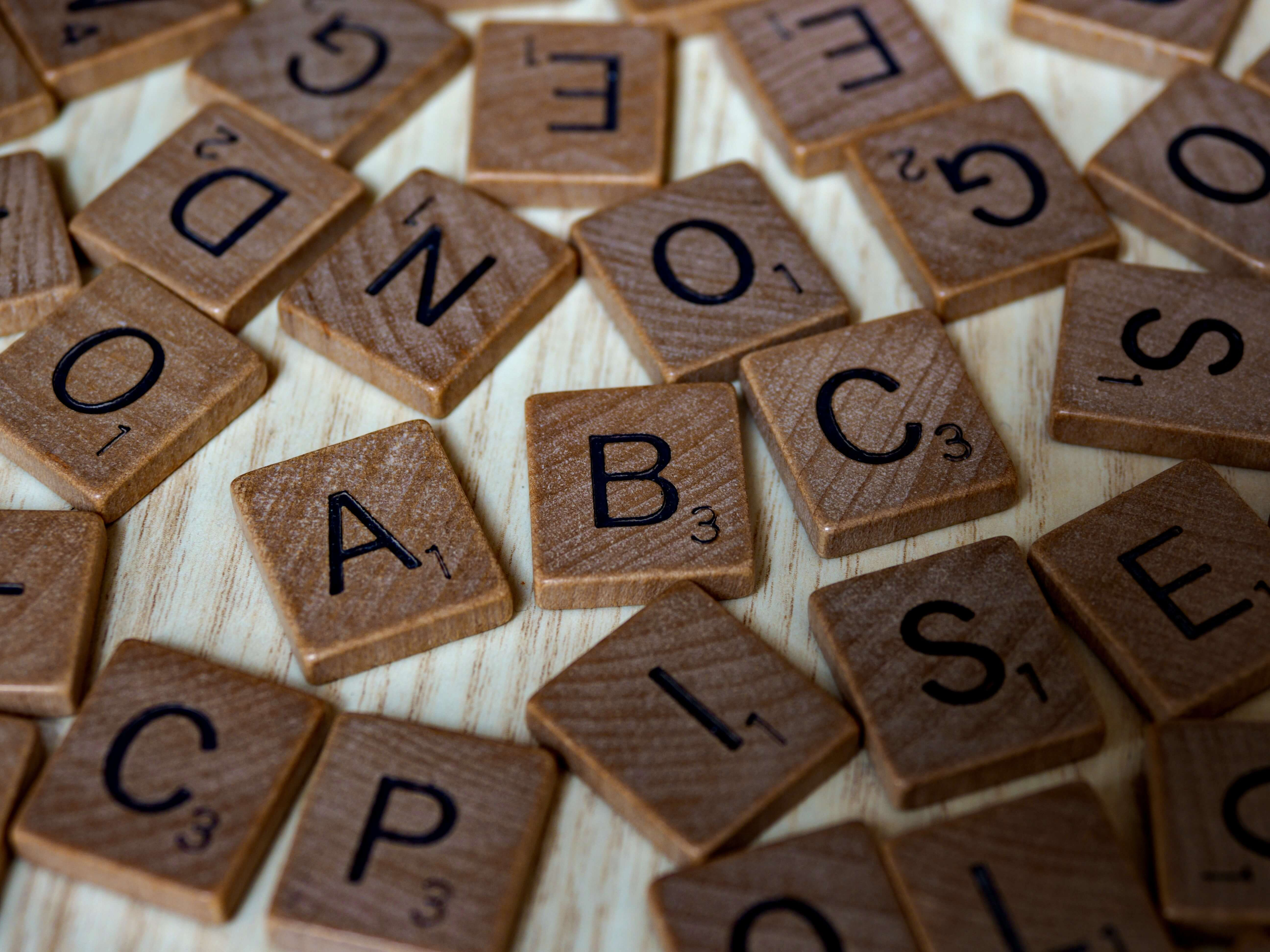 Word games - like Scrabble - can help you pass the time