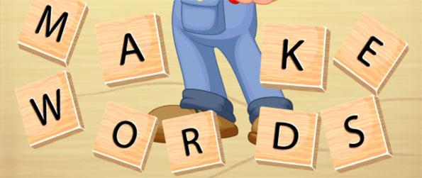 Make Words - Find all the words from a jumble of letters in this challenging word game, Make Words!