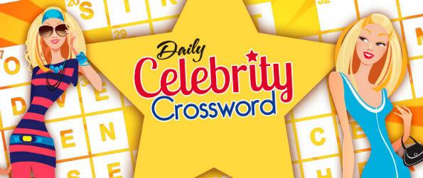 Daily Celebrity Crossword - Daily Celebrity Crossword is a good example of how to make a classic simple game into an exciting test of pop culture and English.
