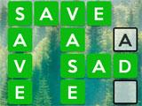 Wordscapes: Using a hint
