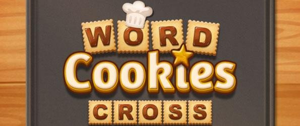 WordCookies Cross - Swipe to match letters on the platter to form words in this exciting sequel, WordCookies Cross!