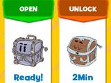 Pictionary: Opening chests