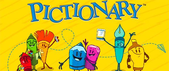 Pictionary - Do your best drawing of the word card you've drawn or guess other people's drawings in Pictionary!