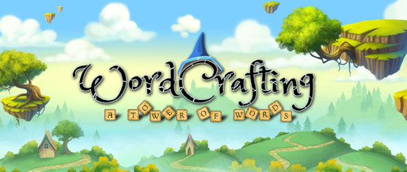 "WordCrafting: A Tower of Words - Unscramble letters, connect letters on your ""crossword tower"", and build a tower of words in WordCrafting: A Tower of Words!"
