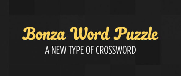 Bonza Word Puzzle - Move Tetris-like blocks of letters around to form the words which match the clue you're given!