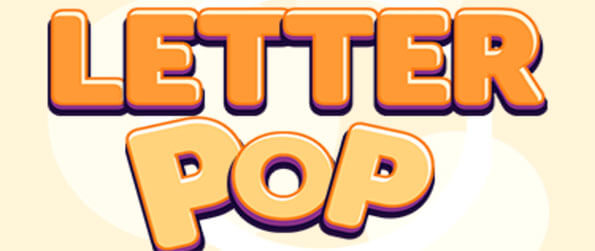 LetterPop - Make as many words as you can in this simple, relaxing and addicting word game.
