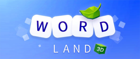 Word Land 3D - Play this absolutely delightful word finding game that's simply on another level in terms of quality.