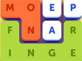 Word Lanes gameplay
