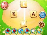 Word Farm Scapes gameplay