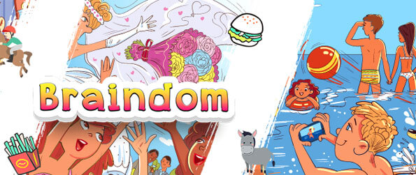 Braindom - Play this fun and highly addicting brain training puzzle game that doesn't cease to impress.