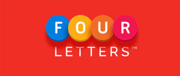 Four Letters - Play this fun and engaging word finding game that you'll be able to play in the comfort of your phone.
