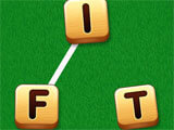 Joining alphabets to forma word