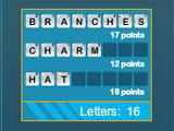 Puzzly Words Top Words