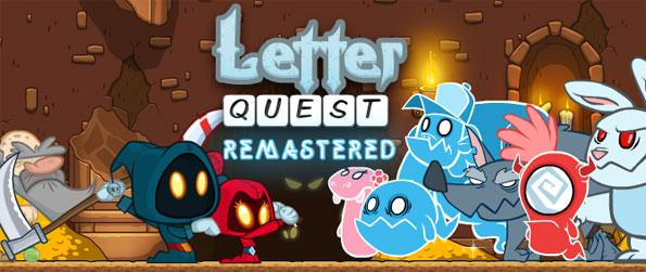 Letter Quest: Remastered - Help Grimm the young grim reaper to reach his favorite pizza place in this exciting and challenging word adventure game, Letter Quest: Remastered!