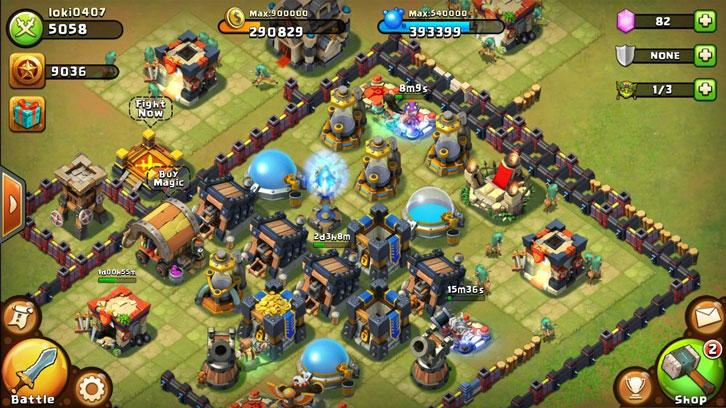 Castle Clash from IGG