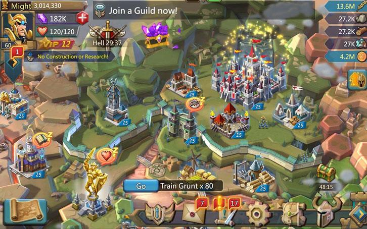Lords Mobile from IGG