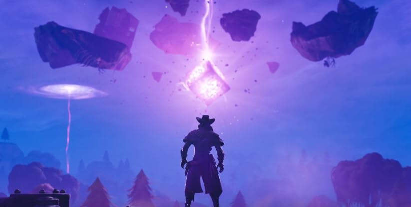 Kevin the Cube exploding