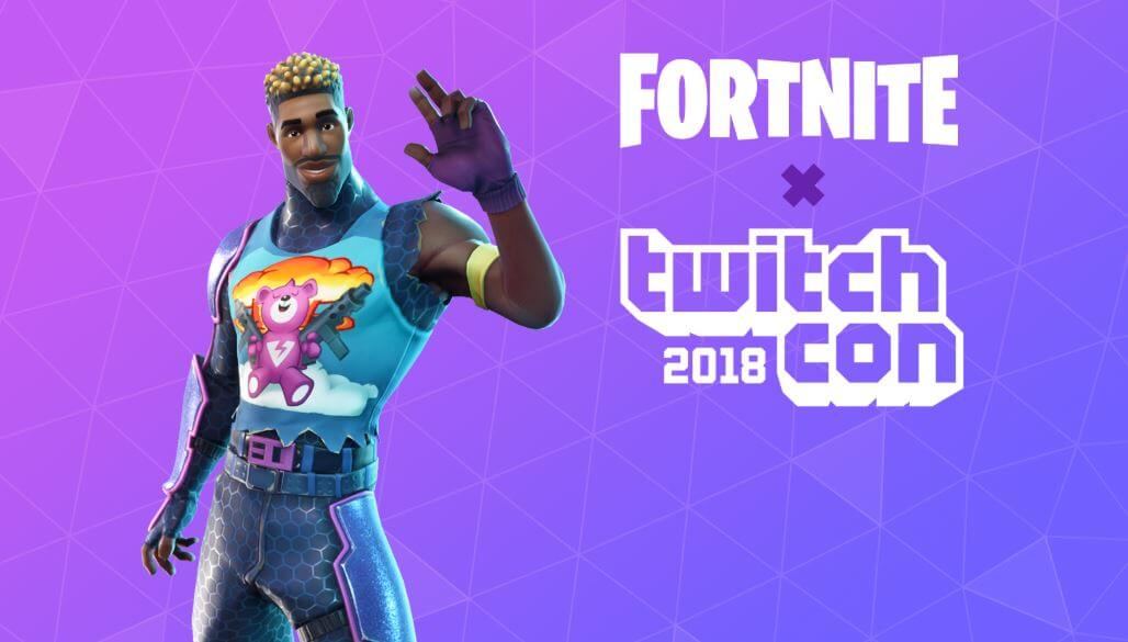 Fortnite joined TwitchCon just this month