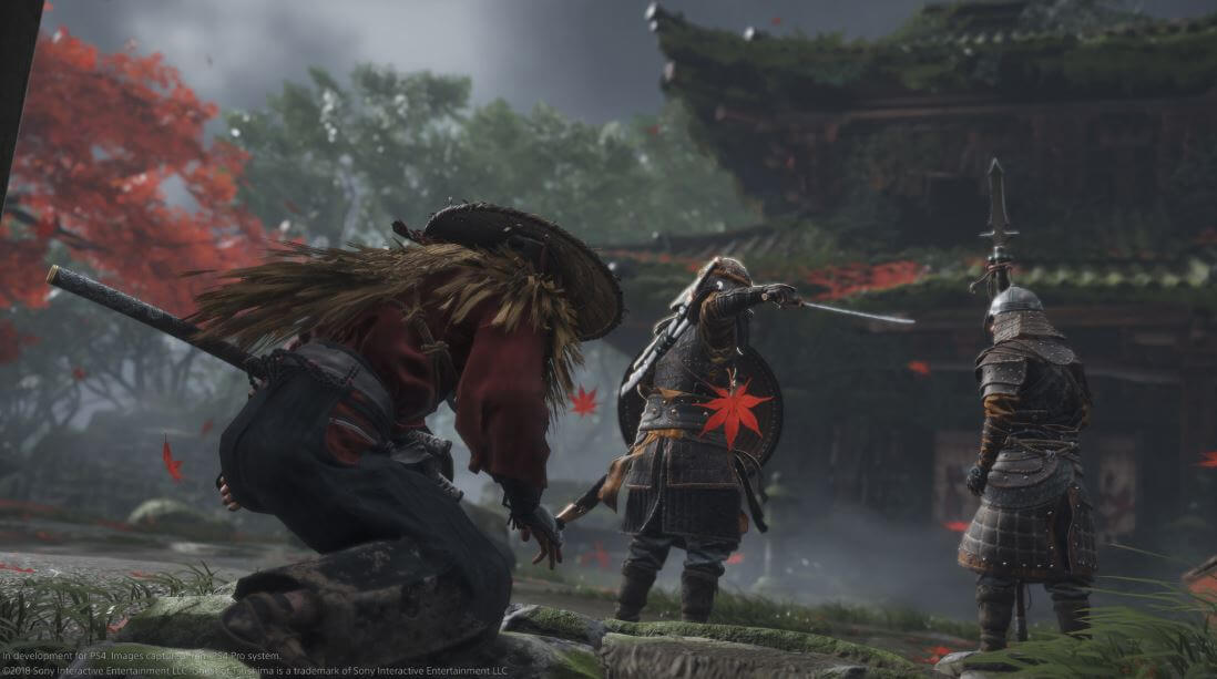 Ghost of Tsushima is pegged a year or months before  a year or months before the next generation