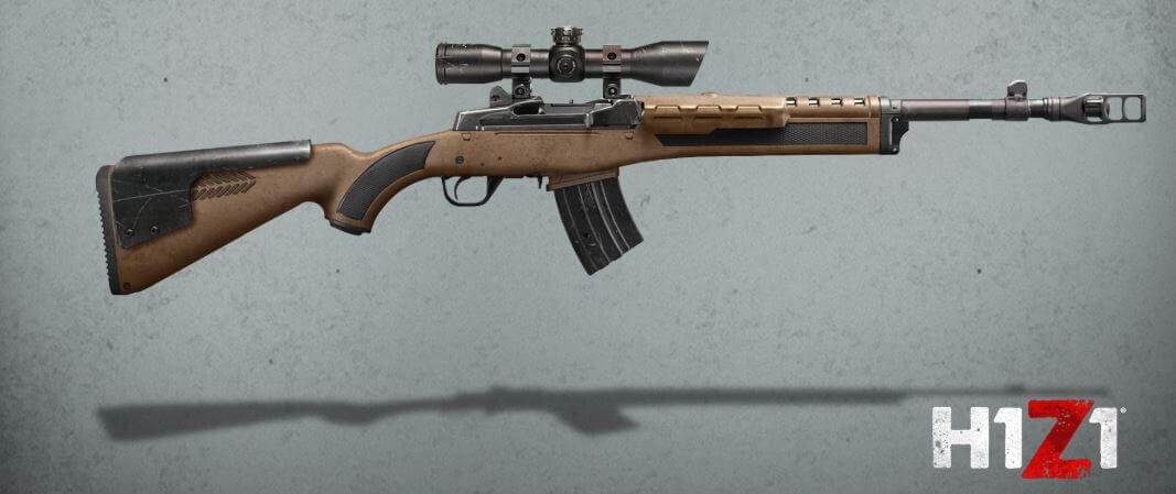 Scout/Ranch rifle in H1Z1
