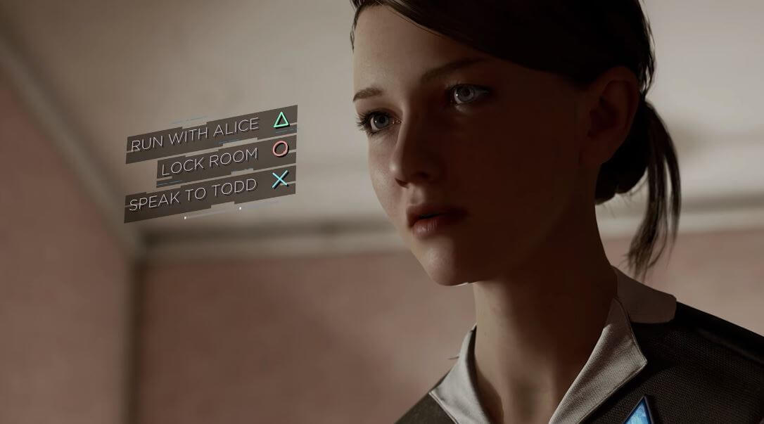 Detroit: Become Human choices
