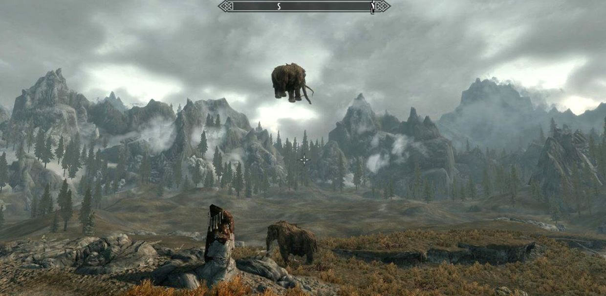 Bugs and glitches in Skyrim