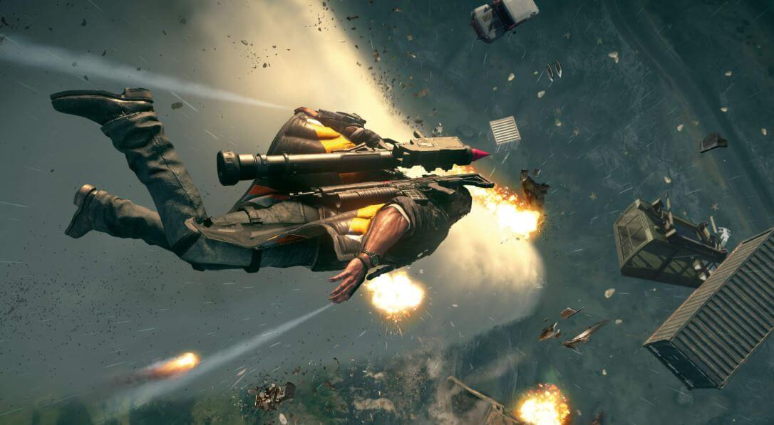 Just Cause 4 wing suit
