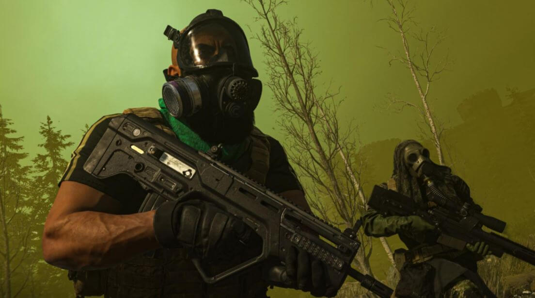 Get used to everything in Warzone