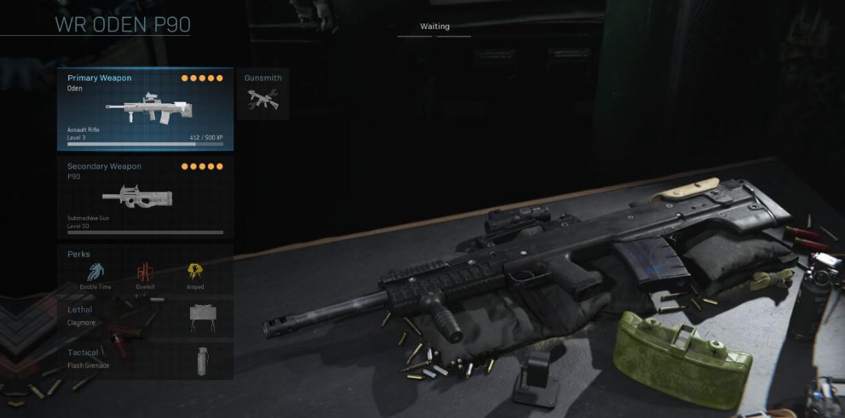 Claymore loadout in Warzone