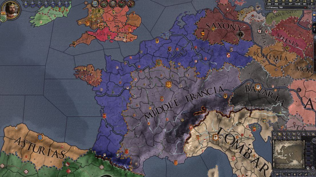 Crusader Kings 2 dishes out a rich and strategic roleplay experience