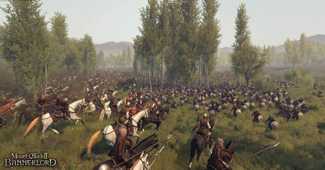 Mount and Blade doesn't only have battles, but potential roleplay experiences
