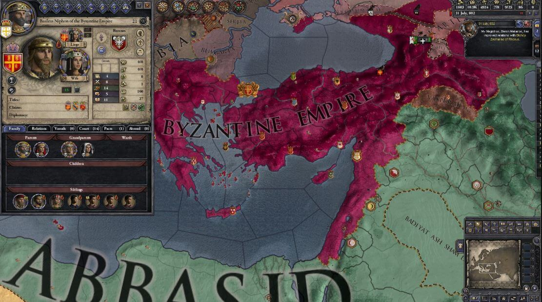 Picking a wife/husband in Crusader Kings is fun