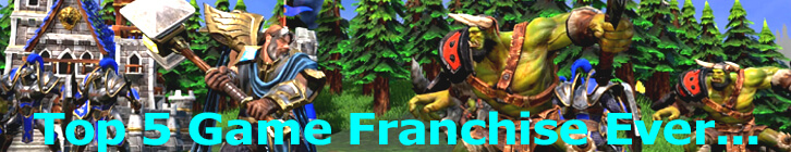 Top 5 Game Franchises of All Time preview image