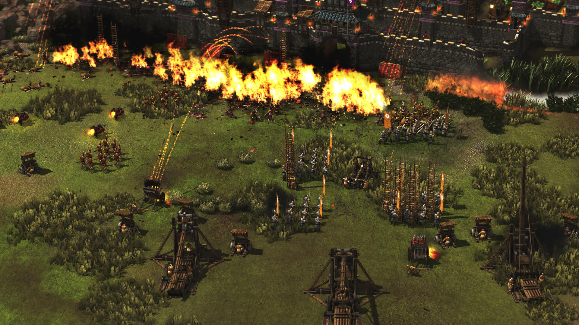 Rockets in Stronghold: Warlords