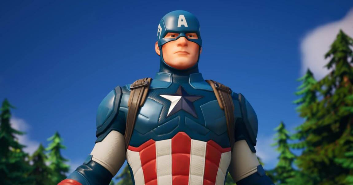 Captain America is now on Fortnite