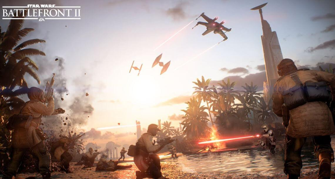 After listening to player feedback, Battlefront II became playable