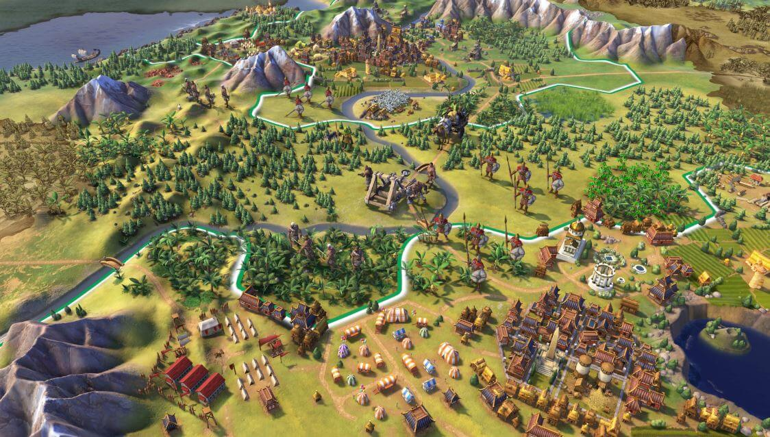 Though a more streamlined game, Civilization VI also has a long learning curve